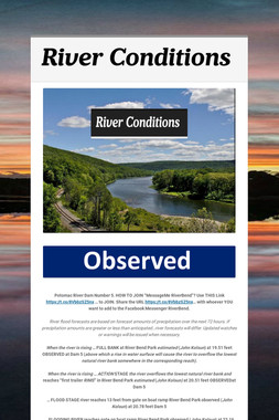 River Conditions
