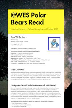 @WES Polar Bears Read