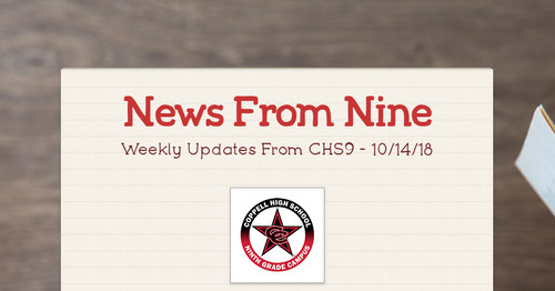 News From Nine Smore Newsletters For Education