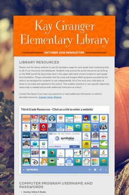 Kay Granger Elementary Library