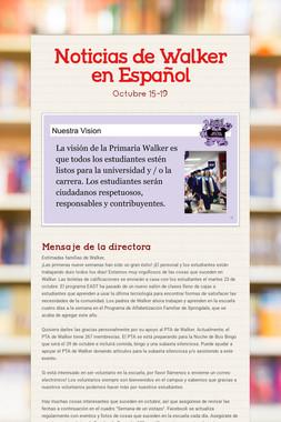 Noticias de Walker en Español