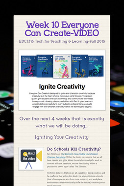 Week 10 Everyone Can Create-VIDEO