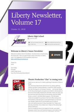 Liberty Newsletter, Volume 17