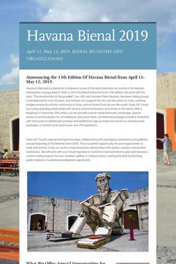 Havana Bienal  2019