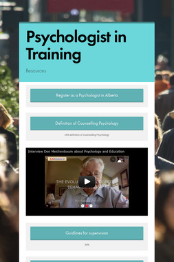 Psychologist in Training