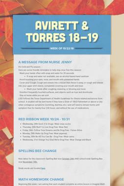 Avirett & Torres 18-19