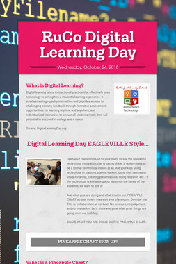 RuCo Digital Learning Day
