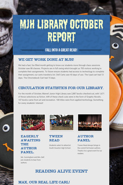 MJH Library October Report