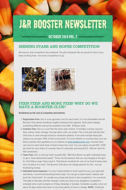 J&R Booster Newsletter