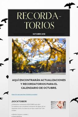 RECORDA-TORIOS