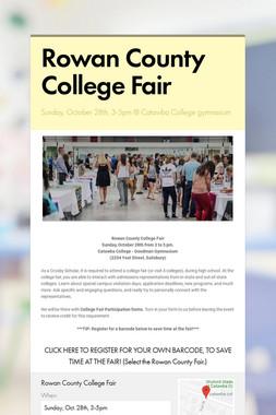 Rowan County College Fair