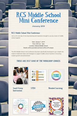 RCS Middle School Mini Conference