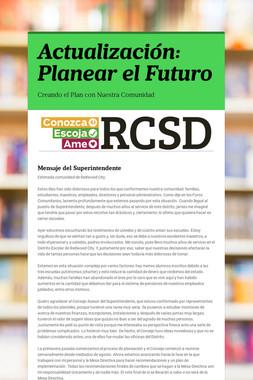 Actualización: Planear el Futuro