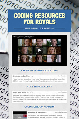 Coding Resources for Royals
