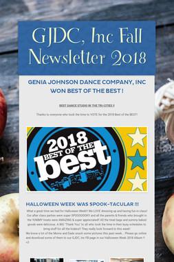 GJDC, Inc Fall Newsletter 2018