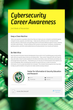 Cybersecurity Career Awareness