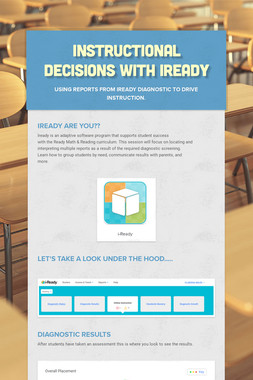 Instructional Decisions with iReady
