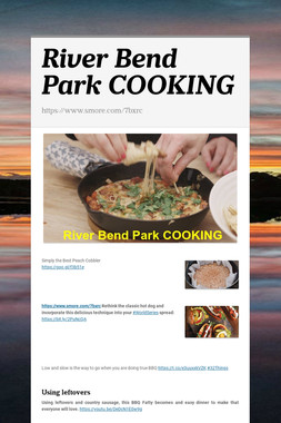 River Bend Park COOKING