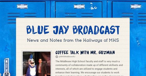 Blue Jay Broadcast | Smore Newsletters
