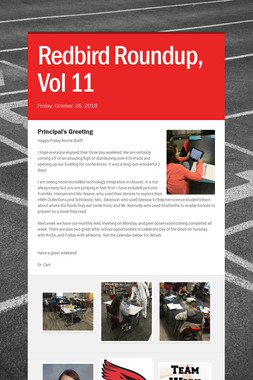 Redbird Roundup, Vol 11
