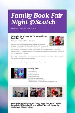 Family Book Fair Night @Scotch