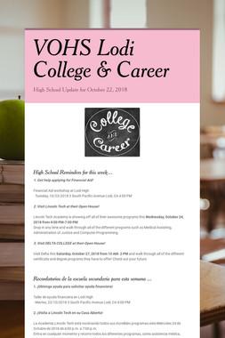 VOHS Lodi College & Career