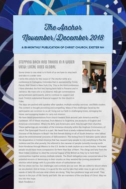 The Anchor November/December 2018