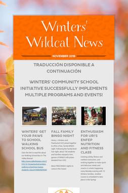 Winters' Wildcat News