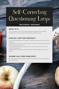 Self-Correcting Questioning Loops