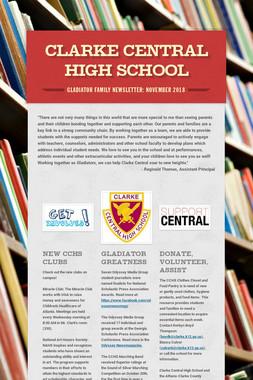 Clarke Central High School