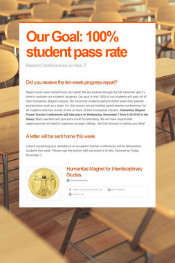 Our Goal: 100% student pass rate