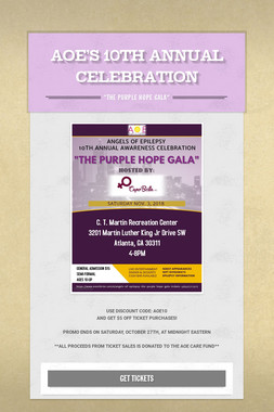AOE'S 10TH ANNUAL CELEBRATION