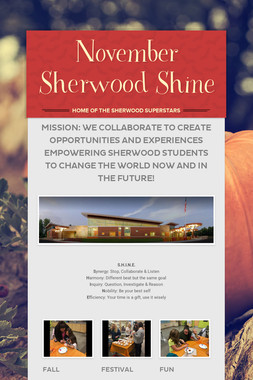 November Sherwood Shine