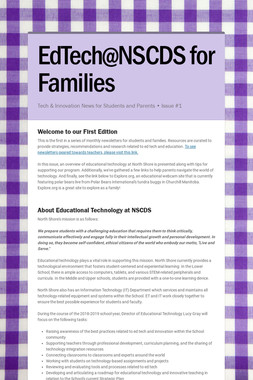 EdTech@NSCDS for Families