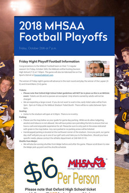 2018 MHSAA Football Playoffs