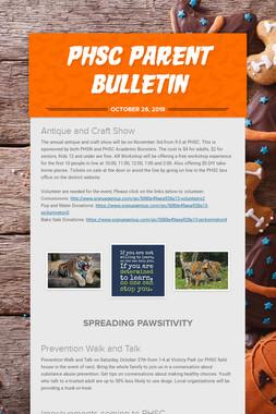 PHSC Parent Bulletin