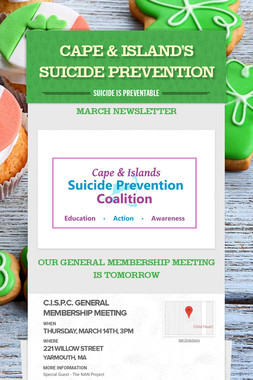CAPE & ISLAND'S SUICIDE PREVENTION