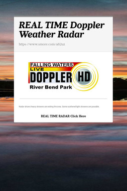 REAL TIME Doppler Weather Radar