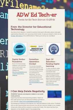 ADW Ed Tech-er