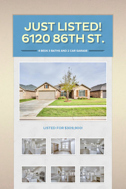 Just Listed! 6120 86th St.