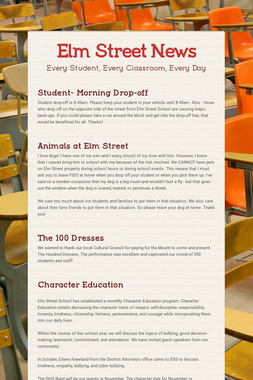 Elm Street News