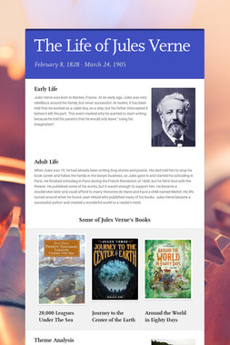 The Life of Jules Verne
