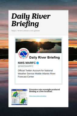Daily River Briefing