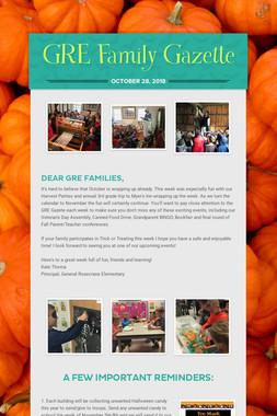 GRE Family Gazette