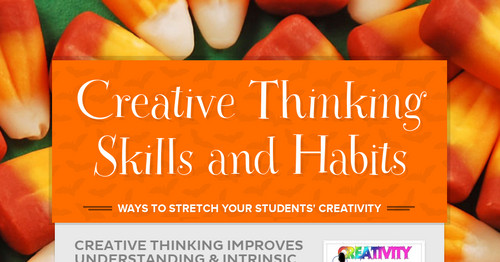 Creative Thinking Skills and Habits | Smore Newsletters