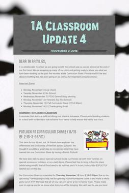 1A Classroom Update 4