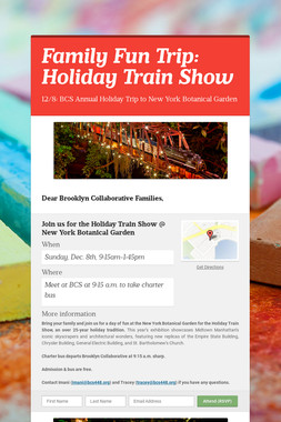 Family Fun Trip: Holiday Train Show