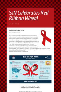 SJN Celebrates Red Ribbon Week!