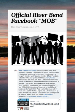 "Official River Bend Facebook ""MOB"""
