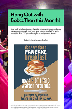 Hang Out with BobcaThon this Month!